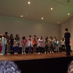Ensayo del Coro Conservatorio Valle del Nalón en Torrevieja