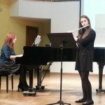 21-11-2013 - Santa Cecilia: Ana García Canteli y Zulima Camblor Pandiella