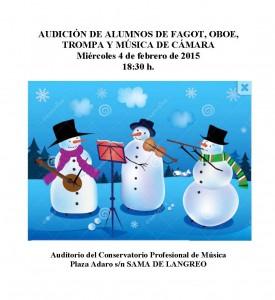 Audicion de Musica de Camara 4-02-2015