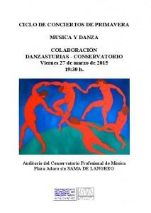 CONCIERTO DANZASTUR 27-03-2015