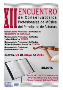 Cartel concierto intercentros 14-15