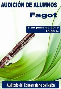 Audicion fagot 8-06-2015