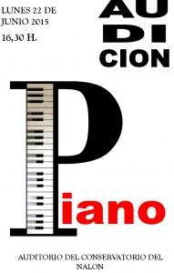 PIANO AUDICION