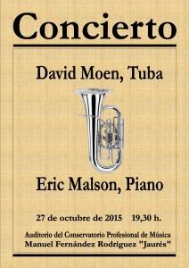 cartel concierto tuba
