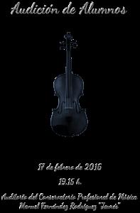 audicion alumnos violin