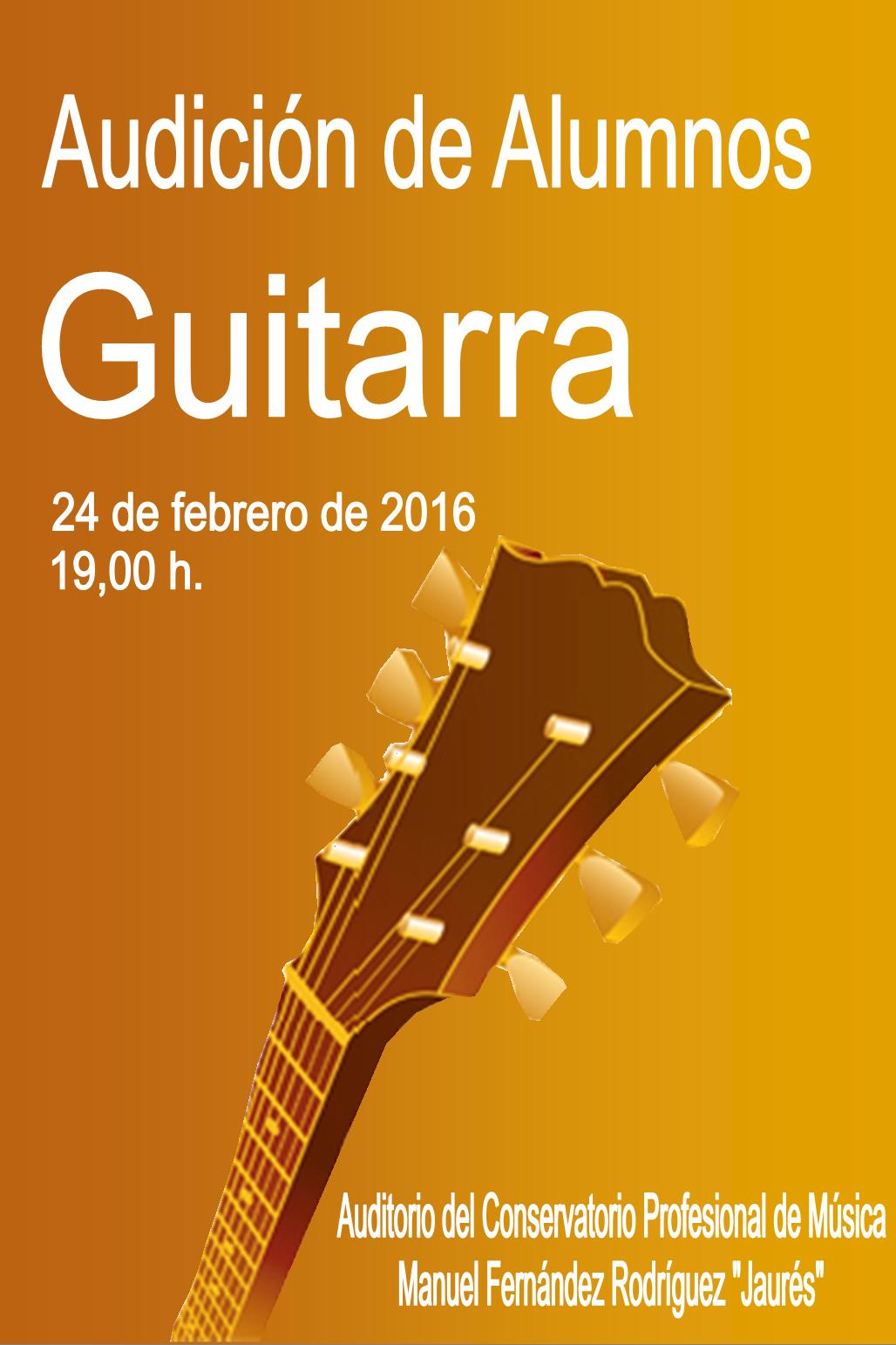 Category guitarra conservatorio profesional de for Conservatorio de musica