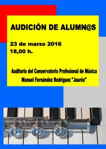 audicion 23-03-2016 18,00