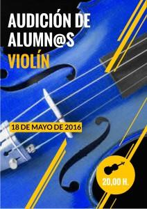 AUDICION VIOLIN 18-05-2016