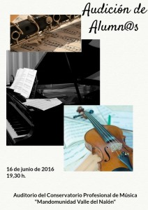 Audición Alumnos 16-06-2016