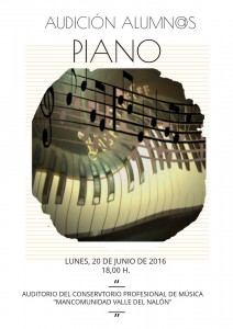 Audicion 20-06-2016 18,00