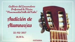 Audición guitarra 22-02-2017
