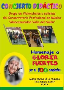 Concierto Gloria Fuertes
