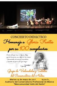 concierto gloria fuertes conservatorio