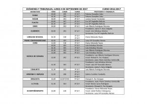 TRIBUNALES SEPTIEMBRE 2017