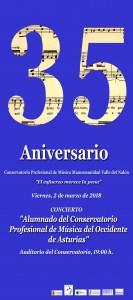 Cartel Conservatorio Luarca