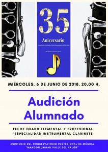 audicion 6-06-2018