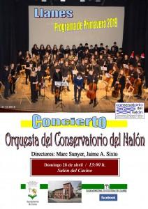 Cartconc. Orquesta Valle del Nalón 2019 Llanes