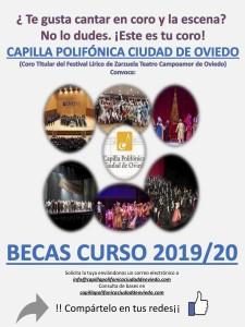 CONVOCATORIA BECAS 2019-2020